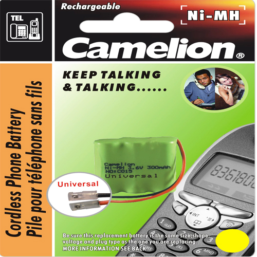 C028 ΜΠΑΤΑΡΙΑ CAMELION NI-MH 3NH-2/3AA 600mA