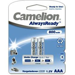 R03AAA800mA-BP2 ΜΠΑΤΑΡΙΑ CAMELION ALWAYS READY AAA