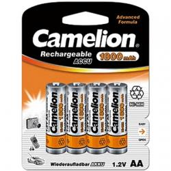 NH-AA1800-BP4 ΜΠΑΤΑΡΙΑ CAMELION ΕΠΑΝΑΦΟΡΤΙΖΟΜΕΝΗ AA